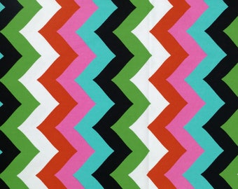 Quilting Cotton Fabric Multi Chevron Spring Easter Colors Hobby Lobby By The Yard