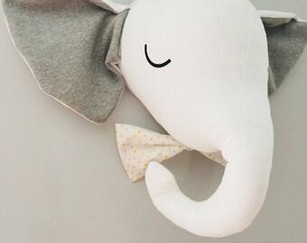 Baby boy elephant head