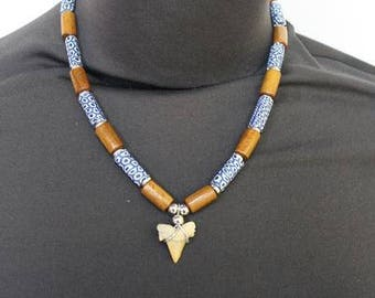 Shark Tooth Necklace - Shark Tooth - Mens Jewelry - Womens Jewelry - Affordable Jewelry -