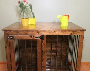 Summer - Custom Handmade Kennel / Crate for Dogs