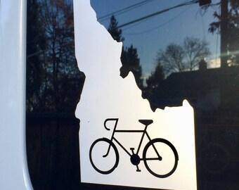 Idaho Bike Decal