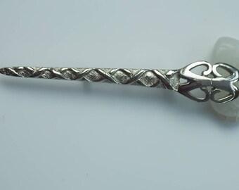 Vintage Scottish Celtic Sword Kilt Brooch Pin