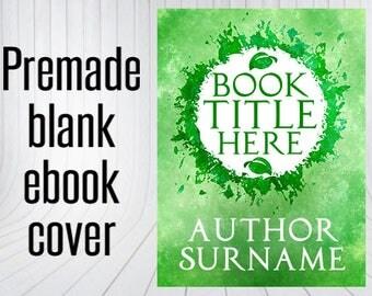 Premade Blank Ebook Cover - Leafy Mandala