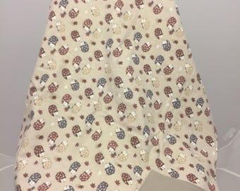 Cozy Flannel Hedgehog Blanket