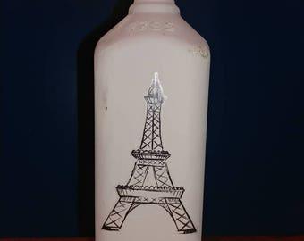 A Night In Paris Grey Vase
