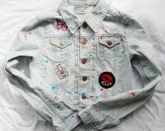 Denim Jacket (child or cranky)