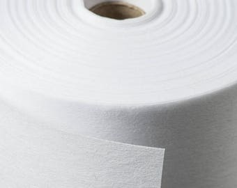 White SEW IN  Non-Woven Interfacing Sold by the metre with Bulk DISCOUNTS and 3 Weights to Choose from!