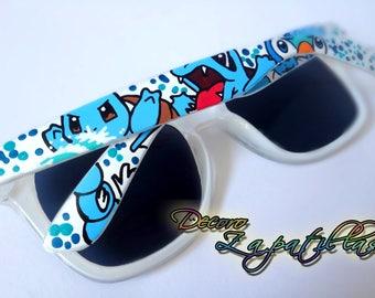 Pokemon custom sunglasses handpainted wayfarers