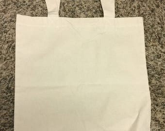 Set of 2 Cotton Tote Bags