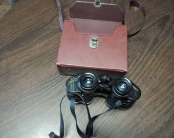 Vintage Binoculars in Original Case