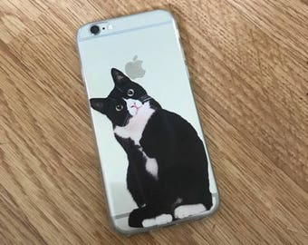 Cat iPhone 6/6s case, cat iphone case, kitten iphone case, cute iphone case, animal iphone case, gifts for her, animal lovers