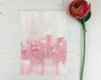 Beautiful Pink Abstract Art, Acrylic Painting, Home Decor, Modern Art, Bible Art, Christian Art, Song of Songs, Valentine's Day, Matte Print