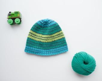 The Buddy Hat - Green Stripe