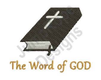 Word Of God - Machine Embroidery Design