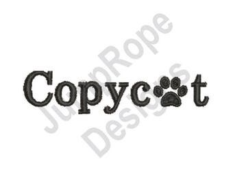 Copycat - Machine Embroidery Design