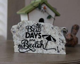 Beach Days- Granite Stone