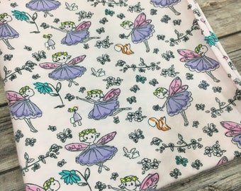 Fairy Baby, Fairy Baby Shower, Flannel Baby Blanket, Flannel Swaddle, Baby Girl Blanket, Baby Shower Gift, Fairy Bedding, Baby Girl Gift