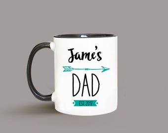 New Dad Gift, Custom Dad Mug, Dad Gift from Kids, Fathers Day Gift, New Dad, Personalized Dad Gift, Dad Mug, Funny Dad Gift, Gift for Dad