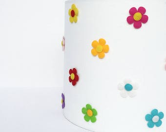 Flowers bedside lampshade - 20cm - ONE ONLY