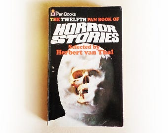 Herbert van Thal (Ed) - The Twelfth Pan Book of Horror Stories - short stories vintage paperback book - 1973