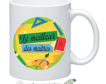 Mug master personalize names date message #4
