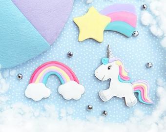 Unicorn Sky Cookie Cutters