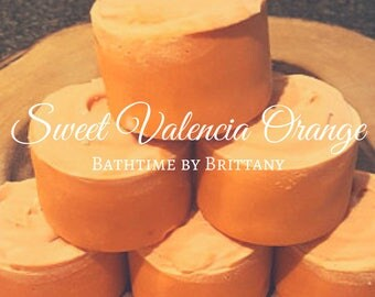 Sweet Valencia Orange Hair Care--Cold Process Shampoo--Shampoo Bar--Solid Shampoo--Conditioner Bar--Solid Conditioner--Travel--Ready to Ship