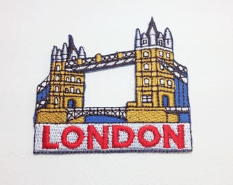London bridge patch Landmark applique patch