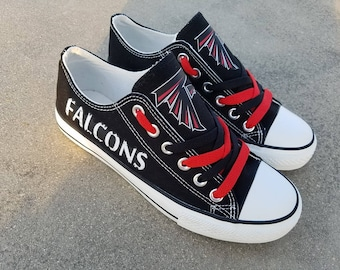 Atlanta Falcons shoes Falcons sneakers Chiefs tennis shoes Holiday gifts Custom shoes