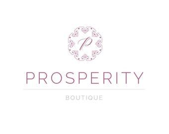 Boutique Logo - Shop Logo - Small Business Logo - Premade Logo - Blogger Logo - Professional Logo - Minimal Logo - Elegant Logo