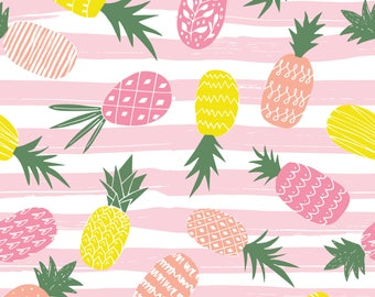Pineapple knit fabric- custom knit fabric -knit fabric -pineapple knit -pineapple fabric -knit pineapple fabric -knit fabric by the yard