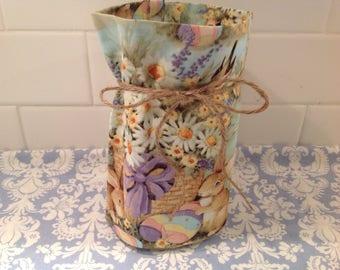 Spring has Sprung! Mason Jar Cover-Ups