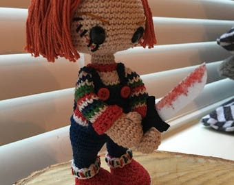 Chucky from child's play. Handmade
