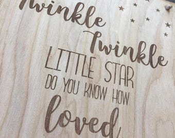 """The """"Twinkle"""" Plaque"""
