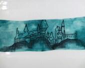 Hogwarts A History- 4ply Sock Blank hand dyed yarn – Superwash Merino + Nylon 75/25