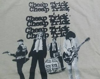 Vintage cheap trick concert 70s tour shirt