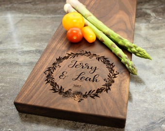 Personalized Cheese Board, Serving Board, Bread Board, Custom, Engraved, Wedding Gift, Housewarming Gift, Anniversary Gift, Engagement #20