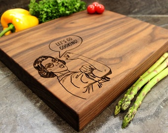 "Personalized Chopping Block 12x15x1.75"" - Engraved Butcher Block, Custom Chopping Block, Housewarming Gift, Anniversary Gift, Birthday #11"