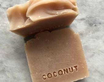 100% Coconut Oil Bar Soap