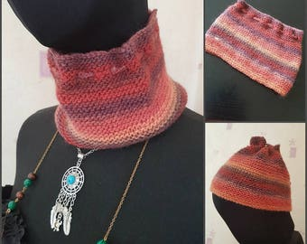 Knit 3 in 1 accessory