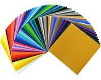 Vinyl Oracal 651 PERMANENT VInyl - One of Every Color Including Metallic (63 count) 12x24