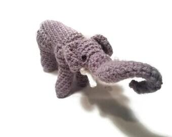 Crochet Elephant ~ Peanut