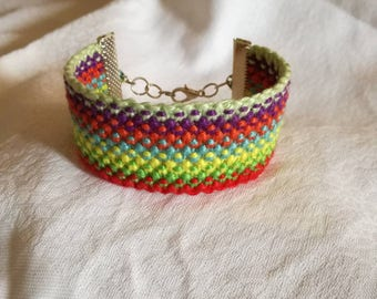 Braided bracelet,Friendship bracelet,Knotted bracelet, String bracelet,Handwoven bracelet,Bracelet with clasp, Bracelet bresilien,Wrist band