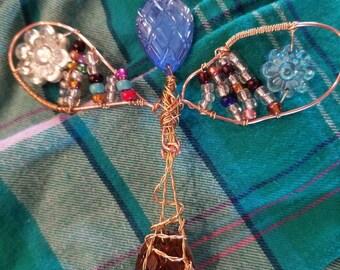 Wire art angel