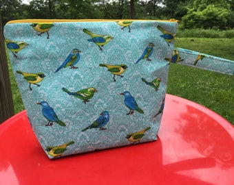 Blue bird bag
