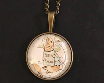 Peter Rabbit Necklace