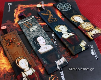Set 1 - Bookmark Tudor wives
