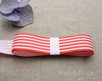 Pattern - synthetic, red, White - Ribbon Rep ribbons
