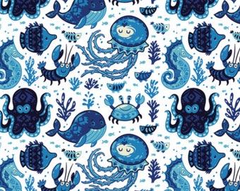 PRE-order marine animal Pocket diaper