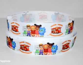 "Daniel Tiger 1"" Grosgrain Ribbon 957"